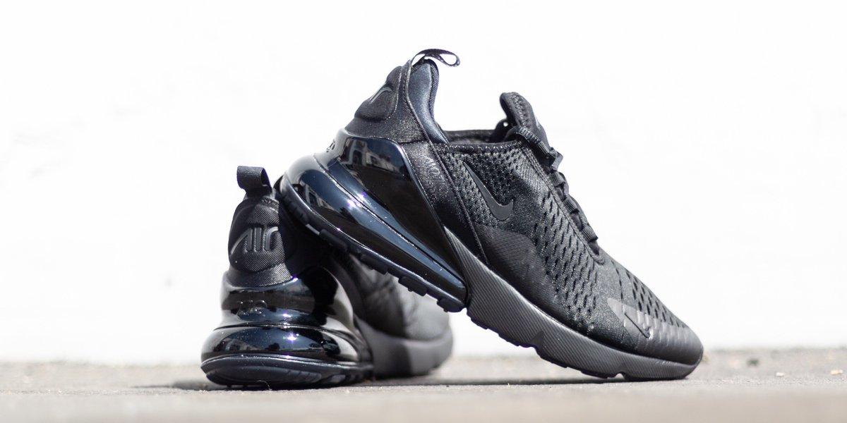 Nike Air Max 270 'Triple Black' | Authentic Verification