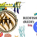 Image for the Tweet beginning: #Redfishcoin (#REDF) New Feature!!! Holding 10REDF/Get 1%