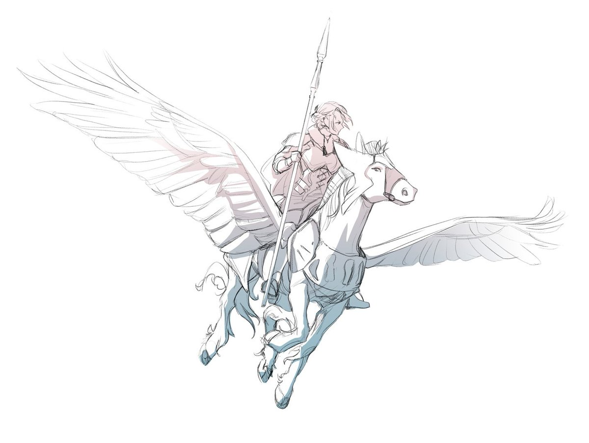 fire emblem three houses pegasus knight