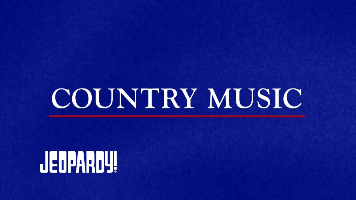 Grab your boots, we've got a category full of COUNTRY MUSIC clues. #MyCountryMusicPBS @KenBurns