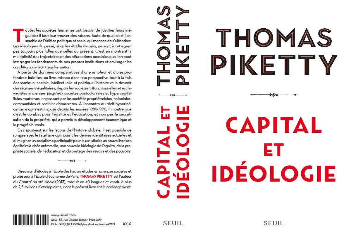 Economist Piketty's latest book a 1,200 page tome about abolishing billionaires