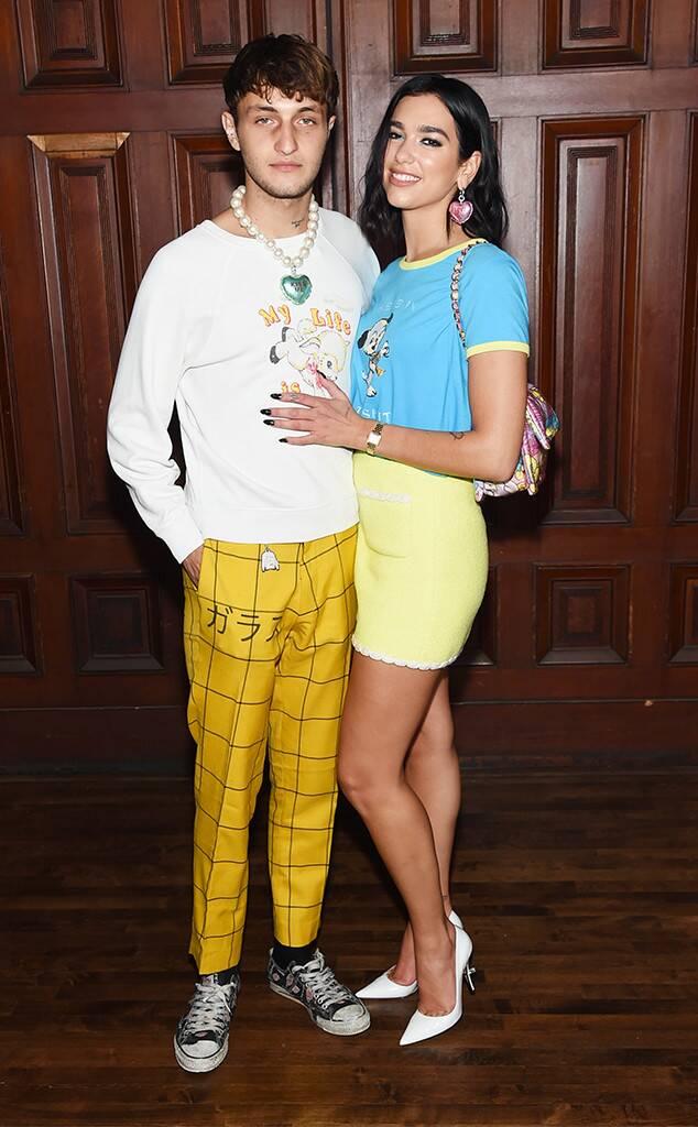 Dua Lipa and Anwar Hadid Make a Color Coordinated Couple Debut at NYFW - Top Tweets Photo