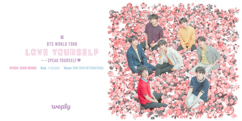 BTS WORLD TOUR 'LOVE YOURSELF: SPEAK YOURSELF' RIYADH  Fan Club Raffle winners are now announced! Check if you won!  http:// app.weply.io/x0zwu     <br>http://pic.twitter.com/KqMqsrQCeQ
