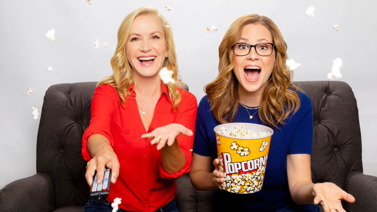 Jenna Fischer and Angela Kinsey, benevolent soup snakes, are launching the Office Ladies podcast - Top Tweets Photo