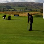 Image for the Tweet beginning: POGO'ing away at Gleneagles! A