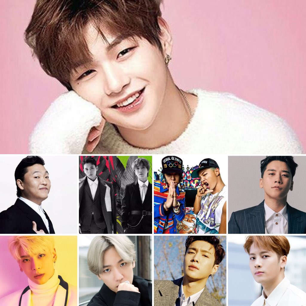 Last month, Kang Daniel became just the 11th male soloist in #Kpop to enter @Billboard's Social 50 Chart. An updated list (as of September 2019):  Kang Daniel PSY Ryeowook Yesung G-Dragon Taeyang Seungri Jonghyun Baekhyun Lay Zhang Jackson Wang  More:  https://www. billboard.com/articles/busin ess/chart-beat/8528735/kang-daniel-solo-billboard-chart-debut-social-50  … <br>http://pic.twitter.com/sSsdPnlVZl