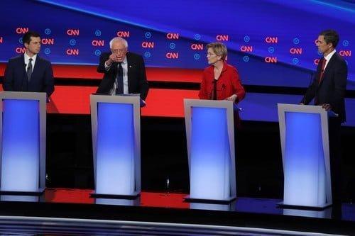 Previewing Thursdays Democratic Debate - Top Tweets Photo