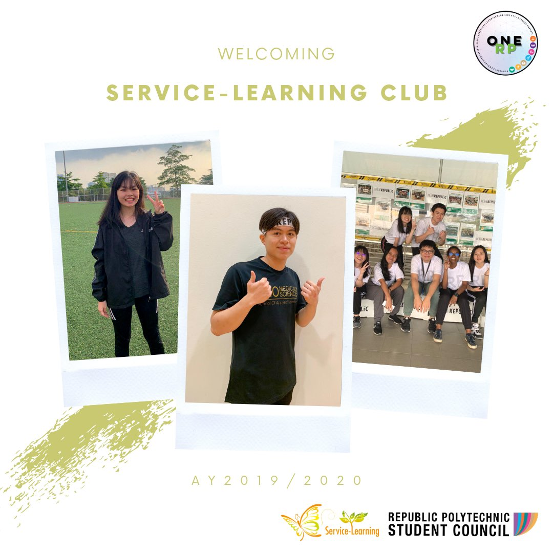 """I want service learning to be more known around RP so that more students can participate in such activities. I aim for the students to learn many qualities & values that will help shape them to become a better individual."" said Joshua, the President of Service Learning Club 🌻✌🏻 https://t.co/WFDyykik4n"