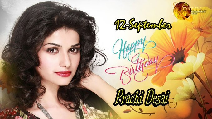 Many happy returns of the day happy birthday prachi desai mam