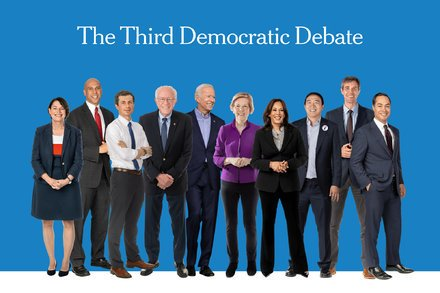 How To Watch The Third Democratic Debate On TV And Online - Top Tweets Photo