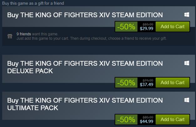 Juicebox Kof Xv On Twitter Kof Steam Sale Please Rt