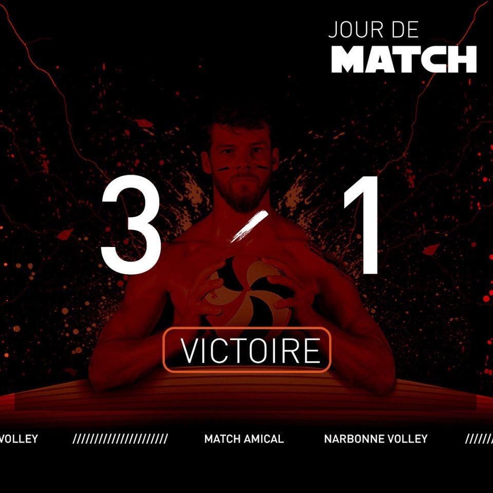Pour leur deuxième match amical, les #Centurions @LNVofficiel #LAM ont pris le...