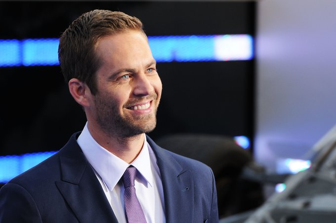 """Happy Birthday  \""""Paul Walker\"""" An excellent most famous Hollywood actor .  We miss you here... SEE YOU AGAIN Sir"""