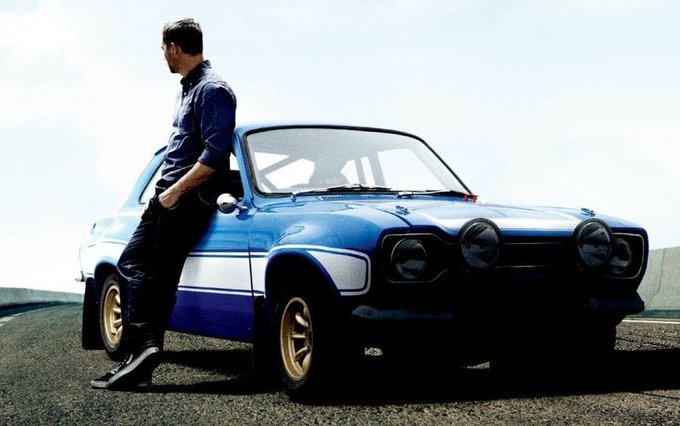 Happy 46th birthday paul walker its been 6 long years you left us ....always in our hearts
