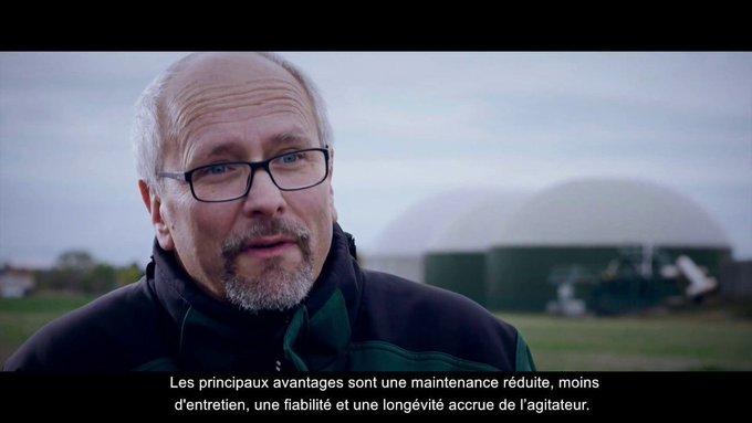 [Biogaz]  Une usine de production de biogaz est capable de baisser ses coûts en diminuant de 30 % le temps de fonctionnement de ses agitateurs #4460 #...
