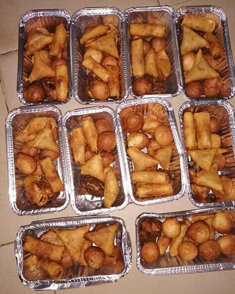 Small chops available for pre-order and delivery today. Price:N500 per pack. Send a DM to me or Call 07037506187 location: Kano city. #MSMEThursdaywithDipo <br>http://pic.twitter.com/CtCavlPWTZ