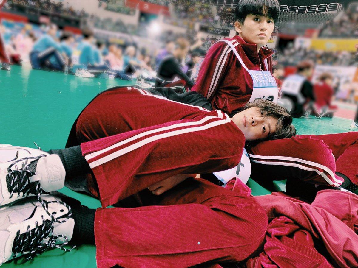#YUTA & #MARK #NCT #NCT127 #아육대