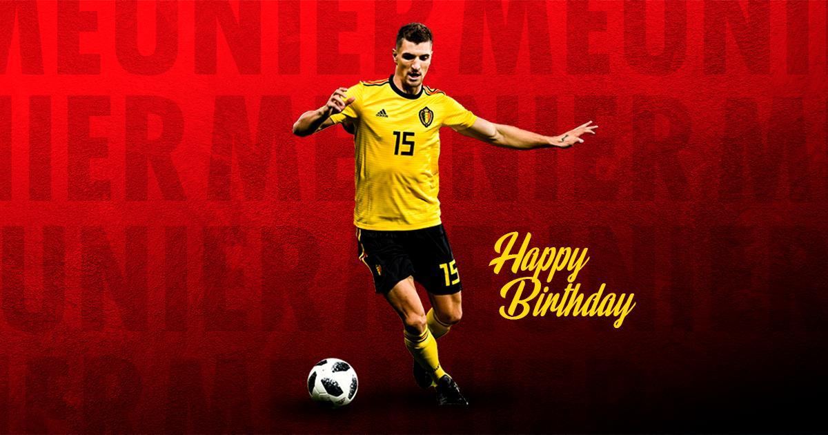 Belgium National Football Team: 2️⃣8️⃣. Have a wonderful B-Day @Tho.  Tweet by @BelRedDevils