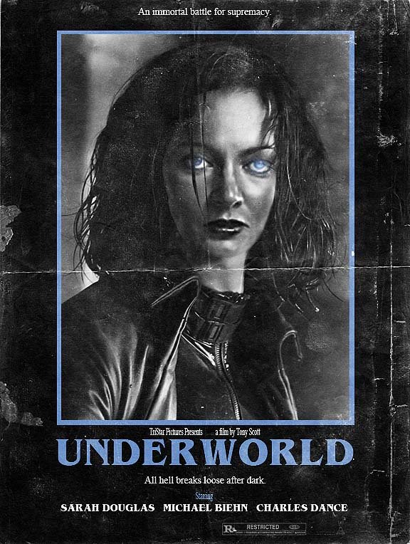 WHAT IF...Underworld had been made in the 80's? Some late night fun in adobe, I think @TheSarahDouglas  would've been a great Selene @KateBeckinsale #WhatIf #Underworld<br>http://pic.twitter.com/QlP2F8cvjl