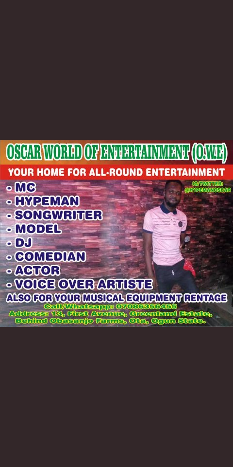 #msmethursdaywithdipo this is my hustle, I am MC Oscar.   Kindly rt,  my potential clients are mosdef on ur tl <br>http://pic.twitter.com/Q5awti47Yv
