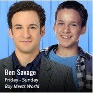 "September 13:Happy 39th birthday to actor,Ben Savage (\""Boy Meets World\"")"