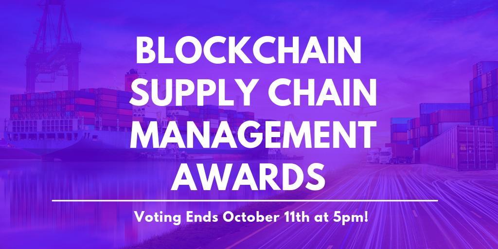 We are honored to be nominated for the @DisruptorDaily's Blockchain In Supply Chain Management Use Case Award! Voting is now open to the public, so you can help #OriginTrail win. 🗳️ Vote here 👉 https://t.co/vyjBAwAnLf