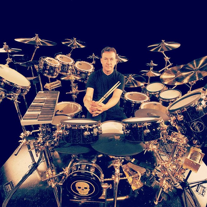 """Happy 67th Birthday to the one and only \""""Professor\"""", Mr. Neil Peart of Rush!"""