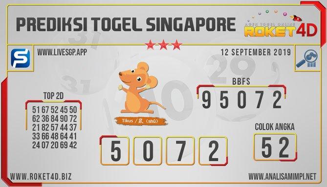 Prediksi Togel Singapore Kamis  Angka Main
