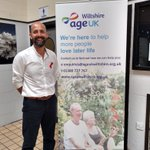 Image for the Tweet beginning: Well done @AgeUKWiltshire for yesterday's
