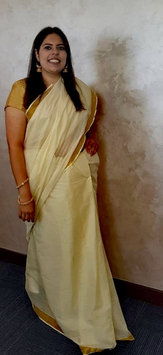 Celebrating Onam at the office today, then thought of contributing to #SareeTwitter  Happy Onam everyone  <br>http://pic.twitter.com/sWnABdXDXx