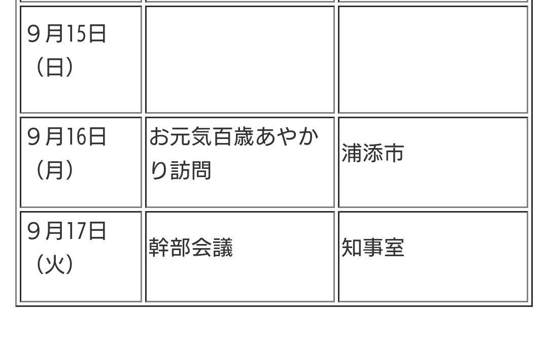 ん?  #沖縄県知事 スケジュール
