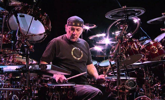 Happy Birthday To Neil Peart 67Ans