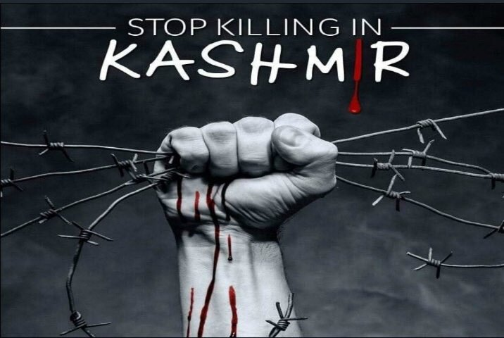 Kashmir has been under curfew for 40days food & medicine are depleted kashmiries are being crushed & killed on the hands of Indian Army with the guilt of being #Muslims Stand with humanity Stand with Kashmir #KashmirStillUnderCurfew #Kashmir2Khalistan #kashmirgenocidebymodi <br>http://pic.twitter.com/PoHx9yJP1h