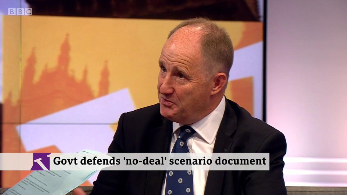 🗣️ I voted to Remain. I'd vote to Remain again tomorrow.🎙️ But now you support no deal🗣️ 52% decided to leave. We should leave. I have a business, I have a lot to lose if this goes wrong- Tory MP @kevinhollinrakehttp://bbc.in/2mdpIG8