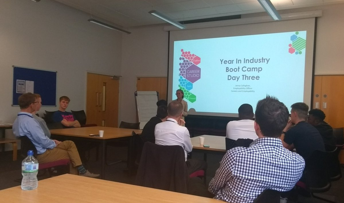 Day 3 of the #Bootcamp with #YINI @livunieng students and some fab employers. Industry talks, practice interviews & assessment centre activities for our students today #livunicareers #livunieng