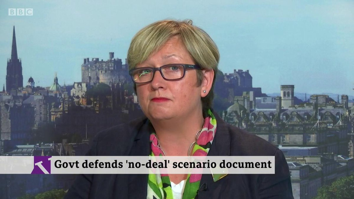 🎙️ Billions more has been poured into mitigating the risks of no deal. Things could have changed since Yellowhammer was prepared🗣️ I am not prepared to believe anything this government says under Boris Johnson- SNP MP @joannaccherryhttp://bbc.in/2mdpIG8