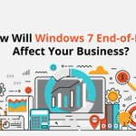 Image for the Tweet beginning: How Will Windows 7 End