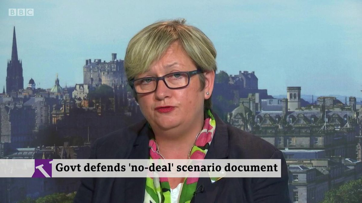 🎙️ Would you vote now for a tweaked deal to avoid no deal?🗣️ No. Any Brexit is damaging. 🎙️ But a no deal could end up slipping through🗣️ The solution is a second referendum. The risk of no deal is not at my door-SNP MP @joannaccherryhttp://bbc.in/2mdpIG8
