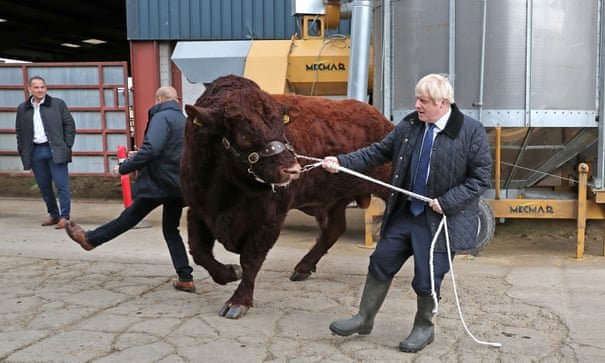 Johnson with a load of bull. No change there then!