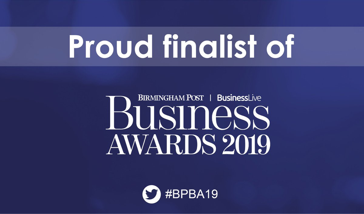 Tonight we will be attending the @birminghampost Business Awards for 'Small Business of the Year'. Wish us luck! #smallbusinessoftheyear #BPBA19 #workwithglee @businesslive<br>http://pic.twitter.com/4MAZV0iLUl