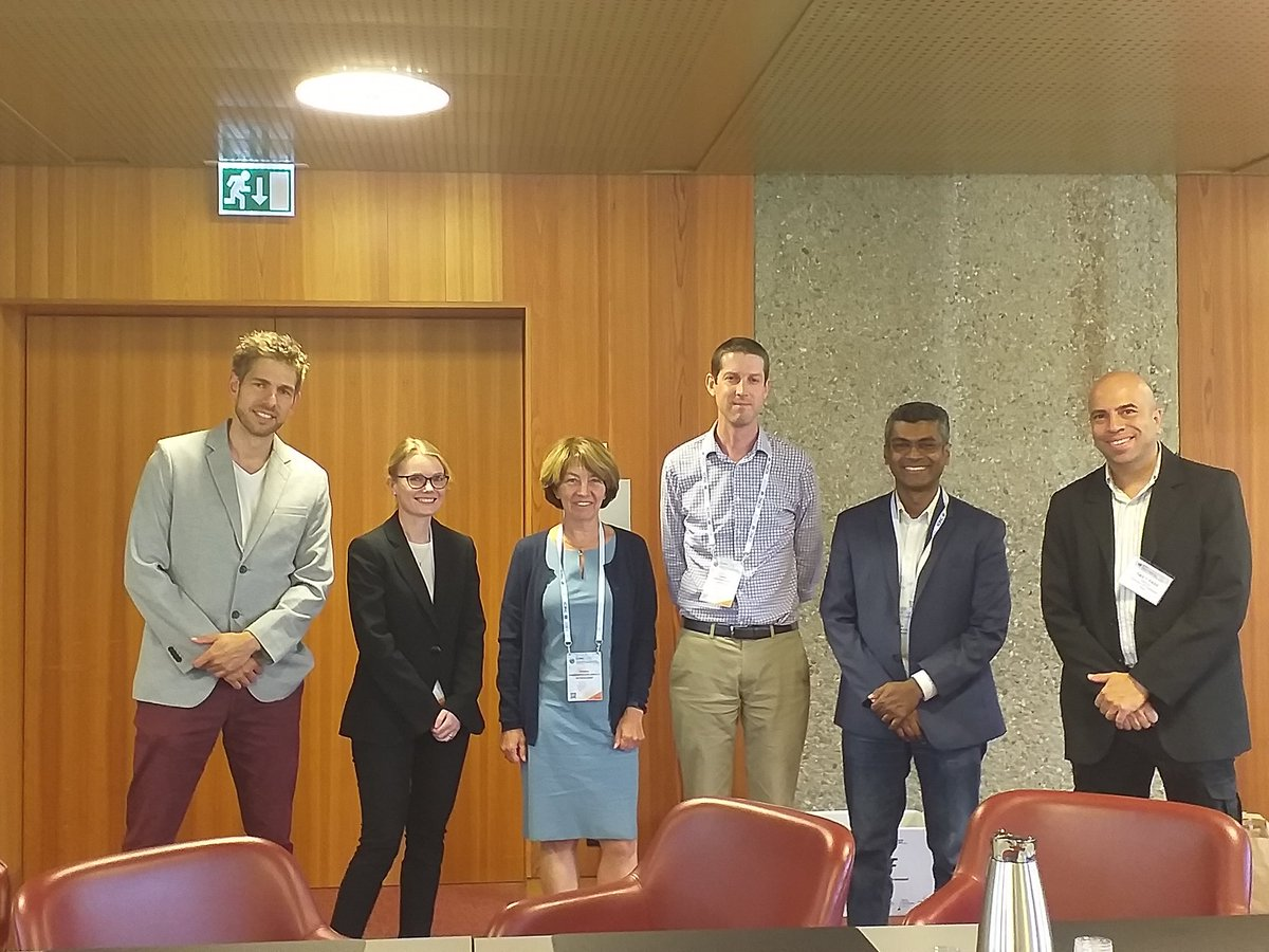 Some of ARIC's Editorial Board at #ICPIC2019 <br>http://pic.twitter.com/LJSa2qU11d