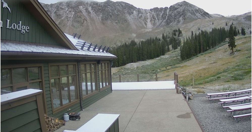 First snow of the season falls on Colorado's highest peaks