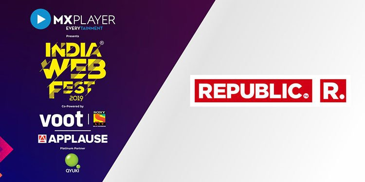 Skribe on Twitter: #ChaiTime : Republic TV to Air India Web Fest Season 2 - @republic Media Network joined hands with