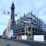 Construction of Blackpool's First 5* Hotel 'The Sands Venue Resort Hotel' coming along nicely!  Sub Surface North West carried out Cable Percussive Boreholes around the perimeter of the existing building to formulate a highly loaded pile foundation design  https://t.co/CsVTiAzqQt