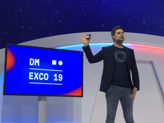 Auf der DMEXCO19 on Stage: Nils_Wollny von holoride erzä