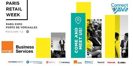 Image for the Tweet beginning: .@orangebusiness est à la Paris