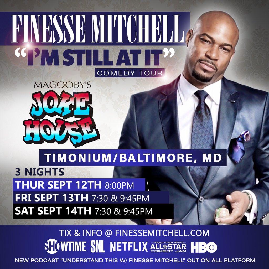 #Baltimore #Timonium the fun starts tonight! @Magoobys all weekend.