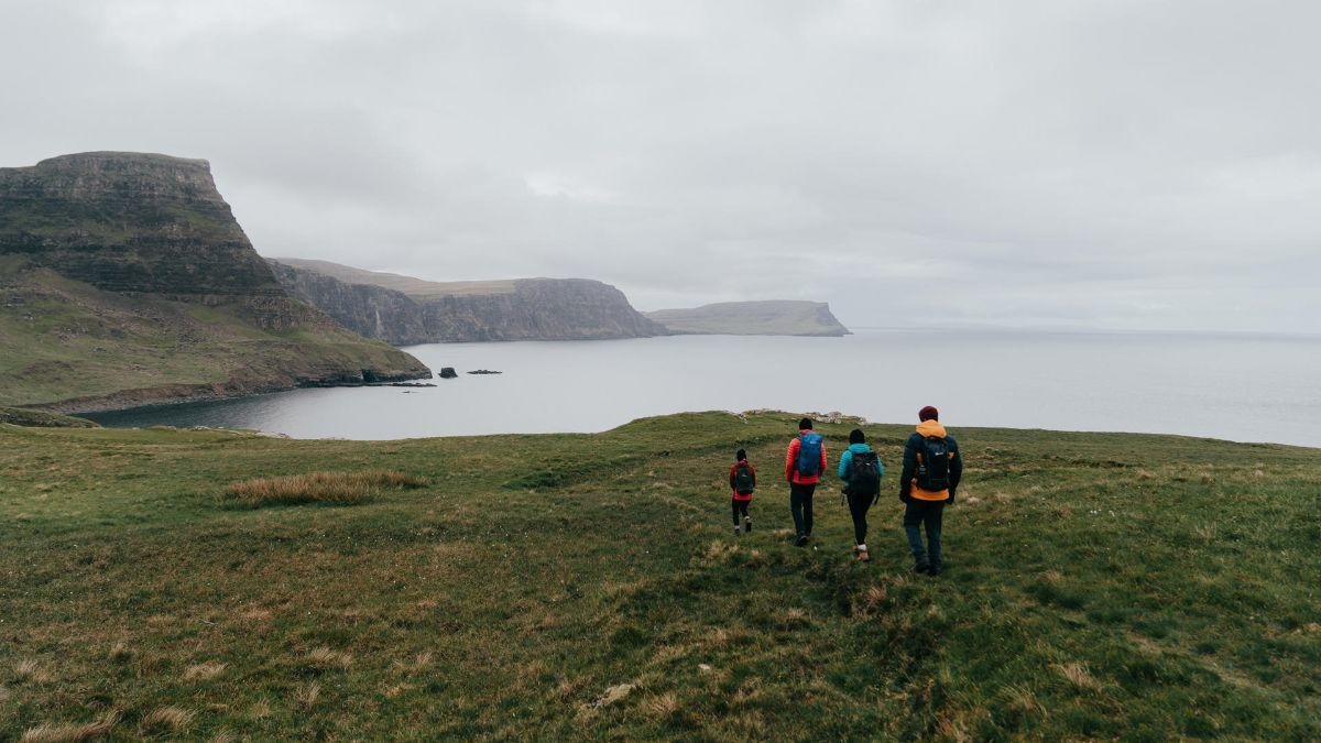 Tap done to share your story We've teamed up with some of the UK's outdoor-obsessed photographers who spent a weekend in the Isle of Skye to capture and share their stories of why they head outdoors. #TimeToGetOut. bit.ly/tap-done
