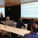 Image for the Tweet beginning: Erika Salmenvaara from @EnergiaHelen presented