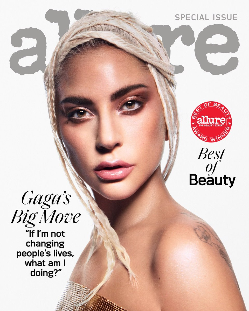 Cover of @Allure_magazine's  Best of Beauty issue wearing @hauslabs ! 🤘